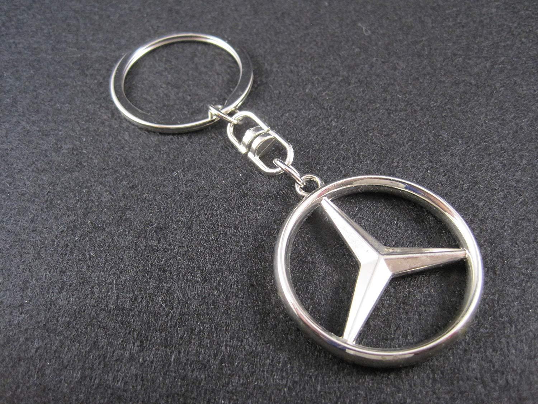 tgh Portachiavi Sport AMG Argento con Logo Stella Mercedes Benz