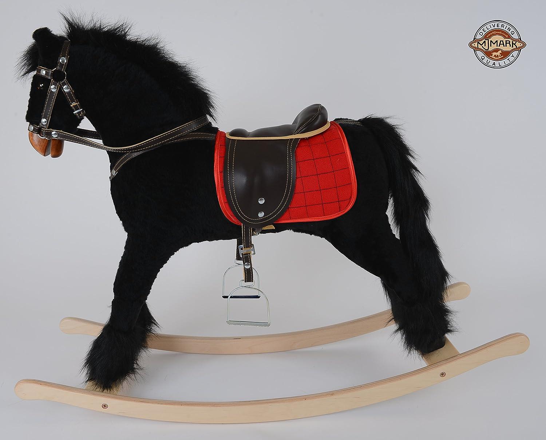 Großes Schaukelpferd TITAN VII Neu & OVP von MJmark Handarbeit Sehr Hochwertiges Schaukelspielzeug Schaukel