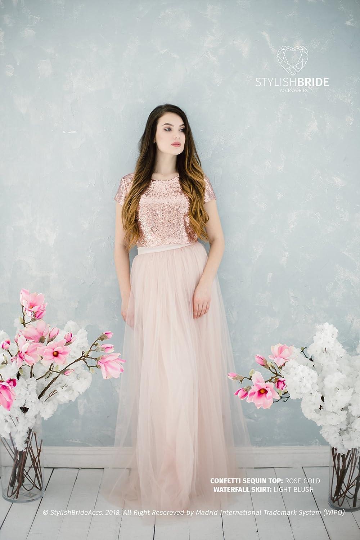 0bb5d848 Sequin Top Maxi Tulle Dress