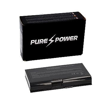 PURE⚡POWER® Batería del ordenador portátil para Asus X71Q-7S003E (14.4/14.8V, 4400 mAh, negro, 8 celdas): Amazon.es: Electrónica