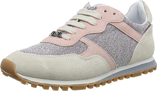 nueva apariencia renombre mundial Zapatos 2018 Liu Jo Alexa-Running White/Pink, Zapatillas para Mujer: Amazon.es ...