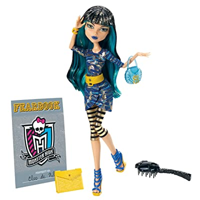 Monster High Picture Day Cleo De Nile Doll: Toys & Games