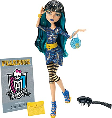 Amazon Com Monster High Picture Day Cleo De Nile Doll Toys Games