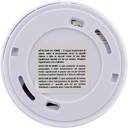 Autonomie 5 Ans Otio Garantie 5 Ans Lot de 2X d/étecteurs de fum/ée NF Livr/és avec Pile et Accessoires de Pose