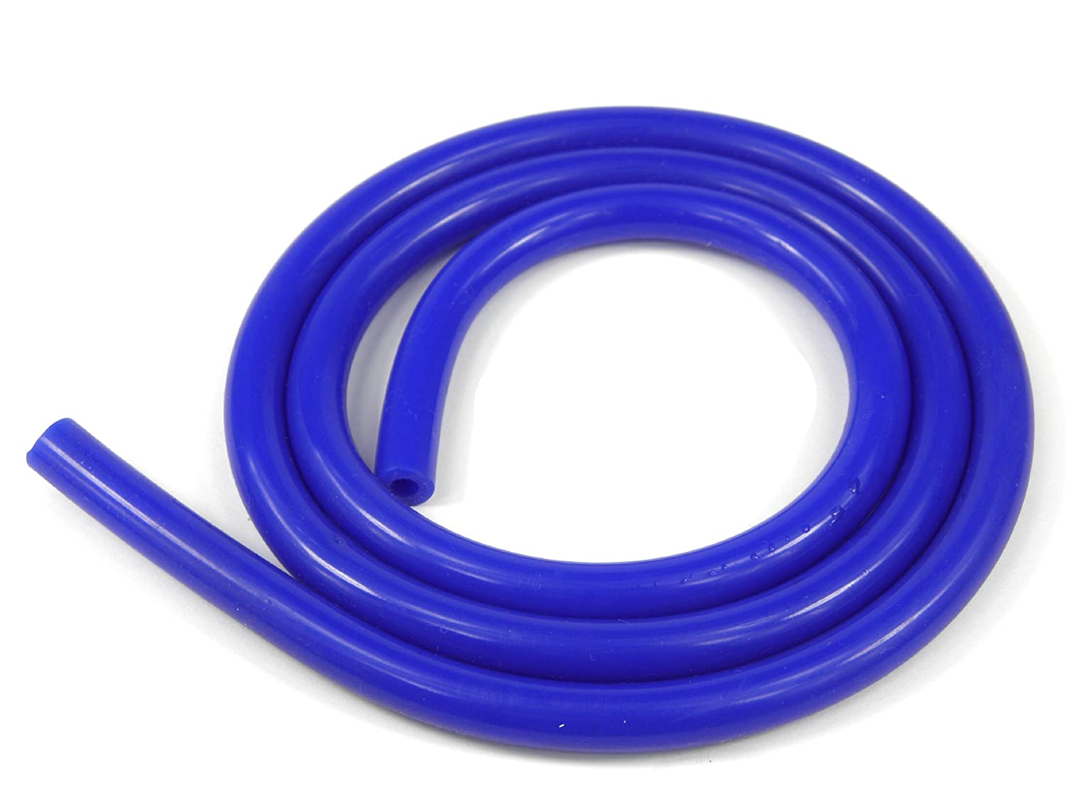 1 Metre Silicone Vacuum Vac Hose Pipe Tube 3mm ID 7mm OD Blue