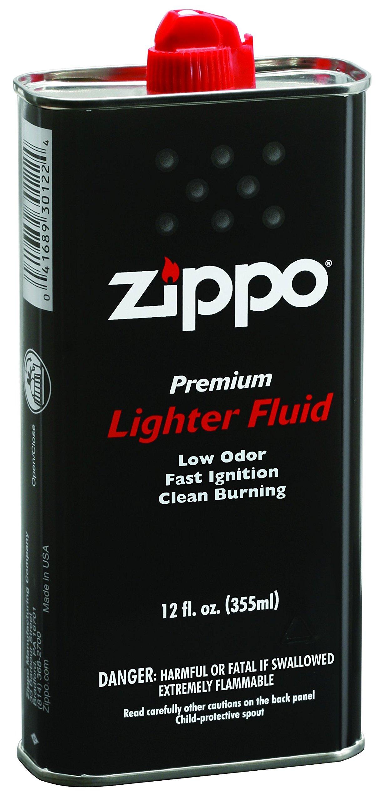 how to put lighter fluid in a gun lighter