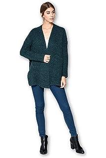 9b5d13ded9 Zoozie LA Women s Furry Sweaters Cardigan Jacket with Soft Furry ...