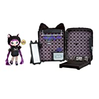 MGA Entertainment Na! Na! Na! Surprise 3-in-1 Backpack Bedroom Black Kitty Playset with Limited Edition Doll