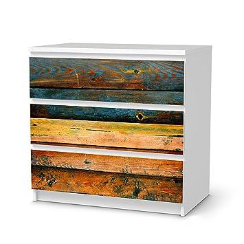 Creatisto Möbel Folie Sticker Für Ikea Malm 3 Schubladen |  Dekorationsaufkleber Deko Möbel Folie