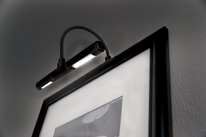 art lighting wireless. Rite Lite LPL602B Wireless LED Picture Light, Black, \u0026 Display Lighting - Amazon Canada Art T