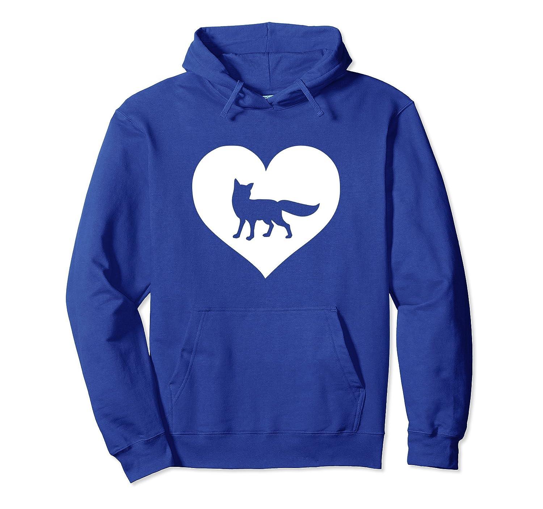 Fox lover Hoodie gift for teens & women who love foxes-Awarplus