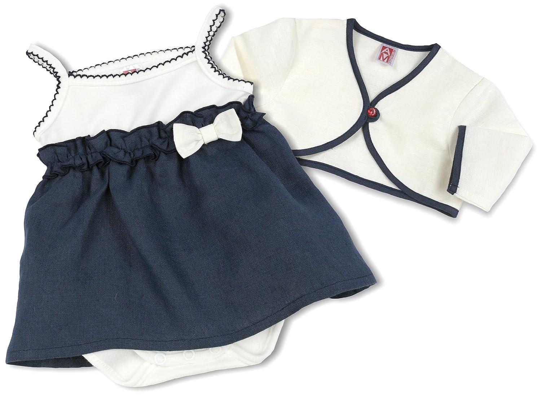 Kleid Weiß Baby SET Shirt /& Trägerrock Kleidchen Weiß Taufe 56 62 68 74 80 NEU