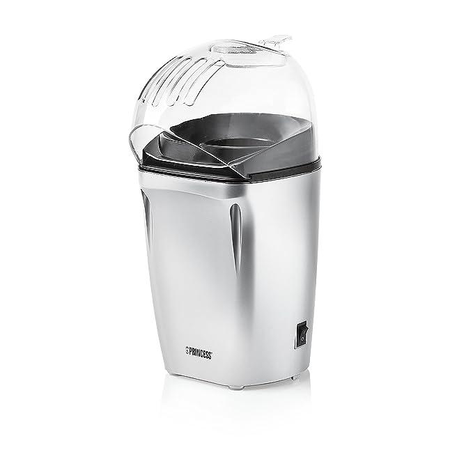Princess 292985 – Máquina de hacer palomitas, con taza medidora incluida, listas en 3 minutos