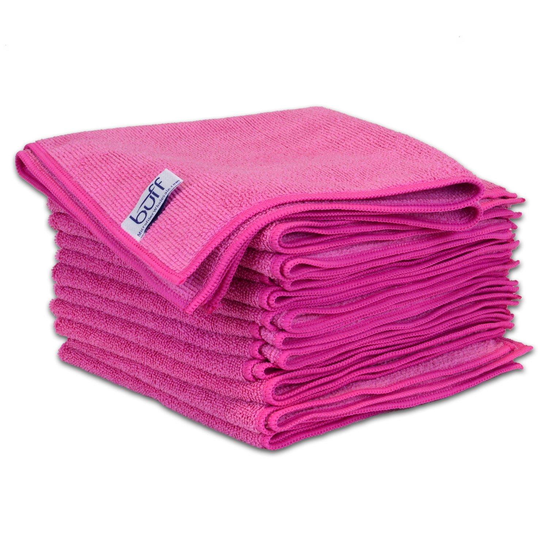 Microfiber Cloth Dusting: Amazon.com: Purple Microfiber Cleaning Cloths By Buff Pro