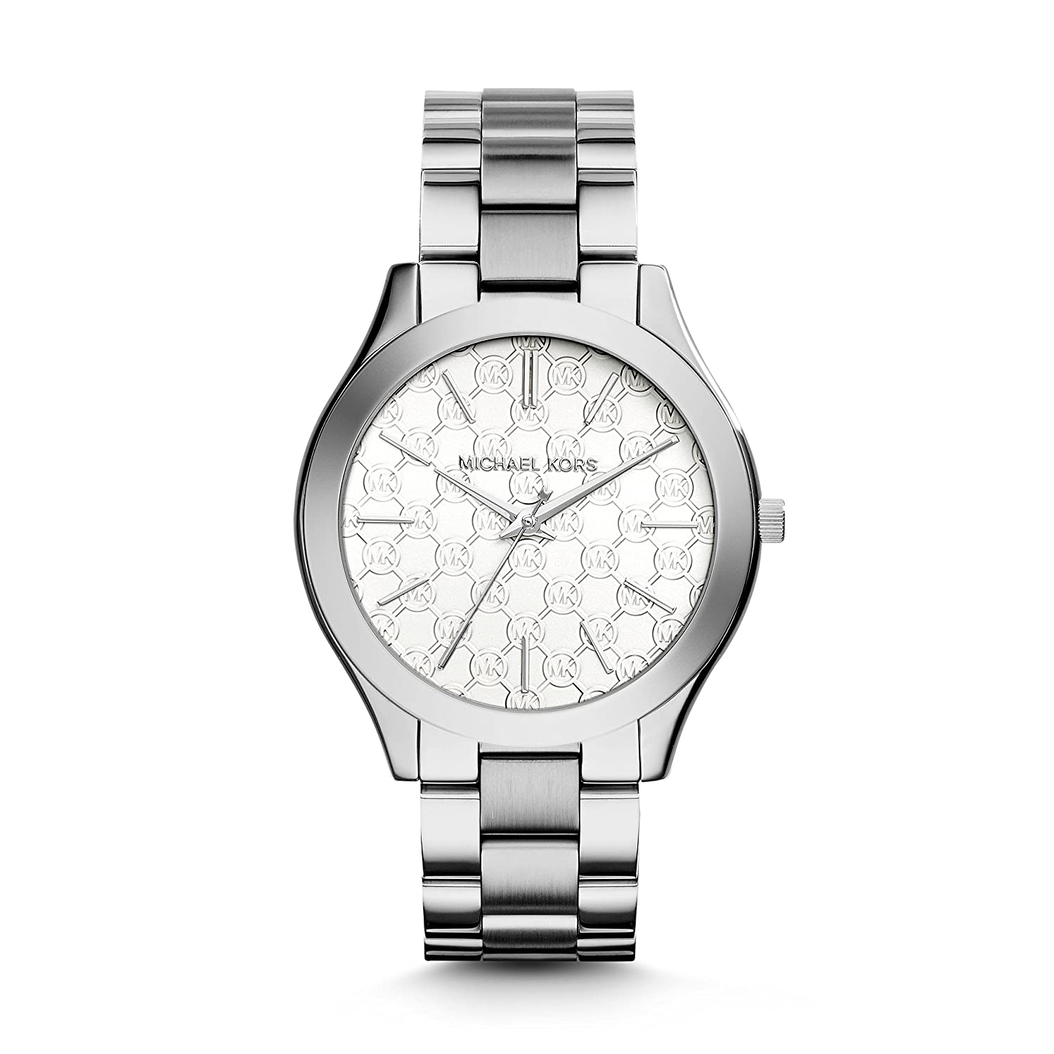 Michael Kors Women s Slim Runway Japanese Quartz Movement Stainless Steel Watch, Color Silver-Toned Model MK3371