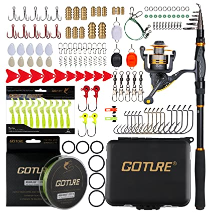Image result for Goture-Sword-Spinning-Fishing-Combo