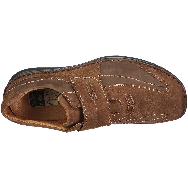 Josef Seibel Schuhfabrik GmbH Alec 43332 921 340 - Mocasines de cuero para hombre, color marrón, talla 42