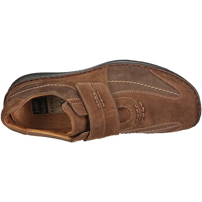Josef Seibel Schuhfabrik GmbH Alec 43332 921 340 - Mocasines de cuero para hombre, color marrón, talla 46