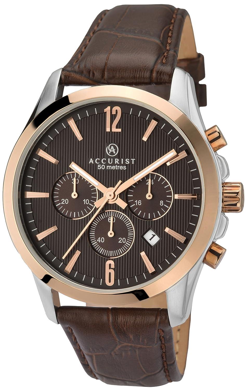 Accurist Herren-Armbanduhr MS643BR Chronograph Quarz