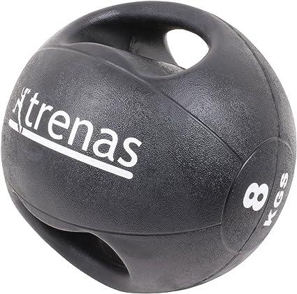 trenas Pro Balón Medicinal con Asas – 8 kg: Amazon.es: Deportes y ...