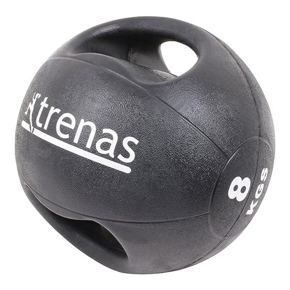 trenas Pro Balón Medicinal con Asas - 7 kg: Amazon.es: Deportes y ...