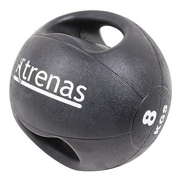 trenas Pro Balón Medicinal con Asas - 8 kg: Amazon.es: Deportes y ...
