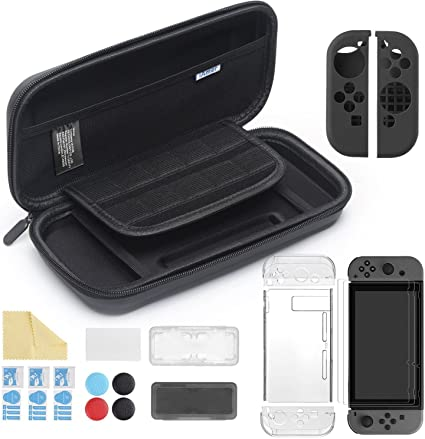 iAmer 11 en 1 Accesorios para Nintendo Switch, con Funda Switch+ ...