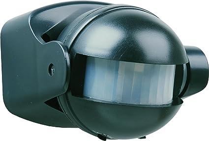 Smartwares ES34Z_SW Interruptor con Sensor de Movimiento, Negro