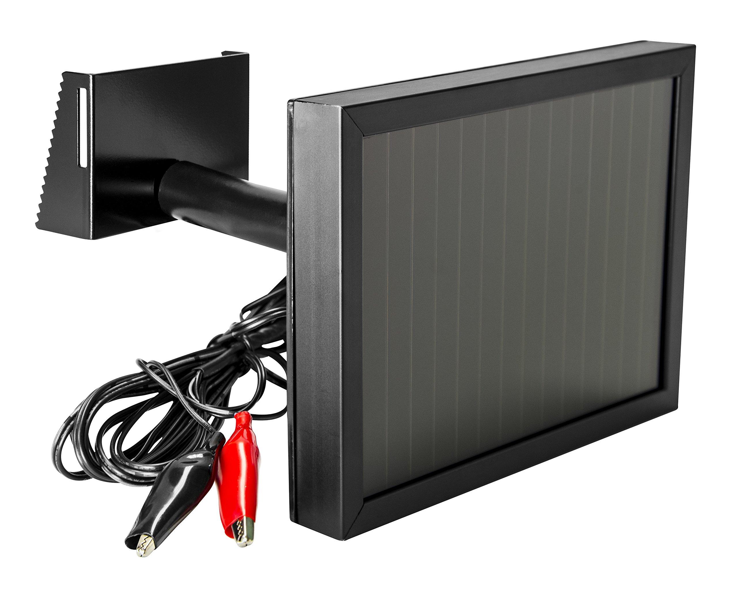 SPYPOINT SP-12V Solar Panel charges 12V Batteries