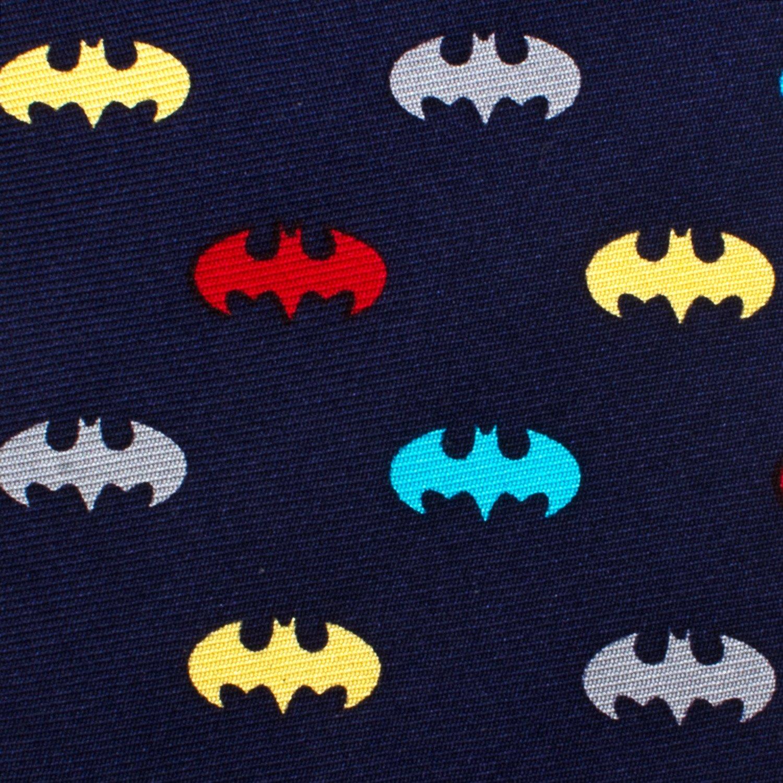 Batman Boys Zipper Silk Tie