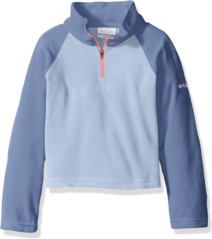 Columbia Girls Glacial Sportswear 1//2 Zip Fleece