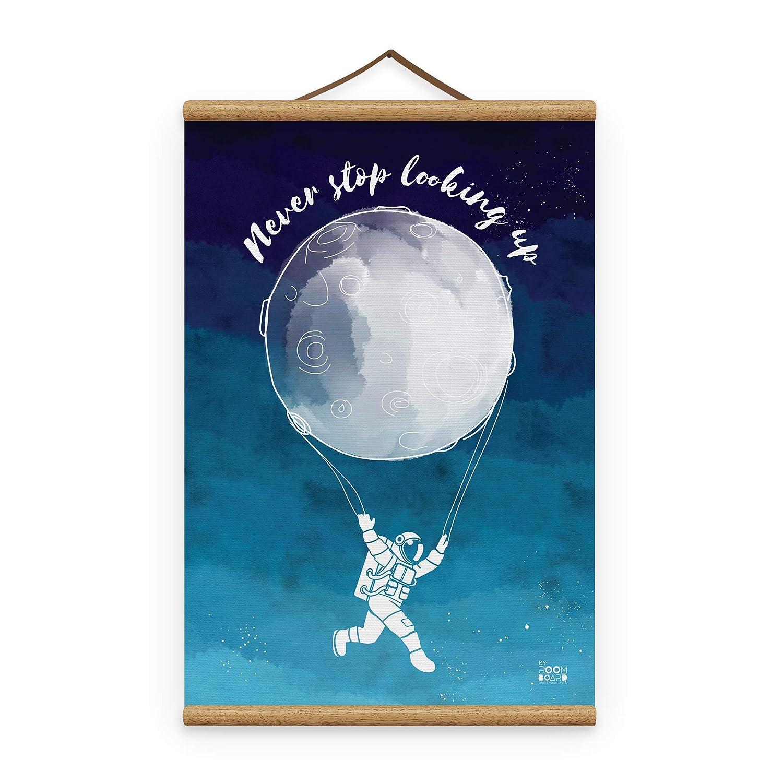 Love Nursery Print Playroom Print Astronaut Print Boys Room Print Balloon Nursery Print Space Nursery Print Boys Nursery Print