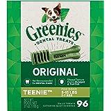 Greenies Original Teenie Natural Dental Dog Treats (5-15 Lb Dogs)