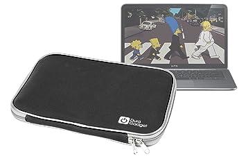 DURAGADGET Exclusiva Funda Negra De Neopreno Resistente Al Agua Para El Ordenador Portátil Dell XPS 13, 13 Ultrabook: Amazon.es: Electrónica
