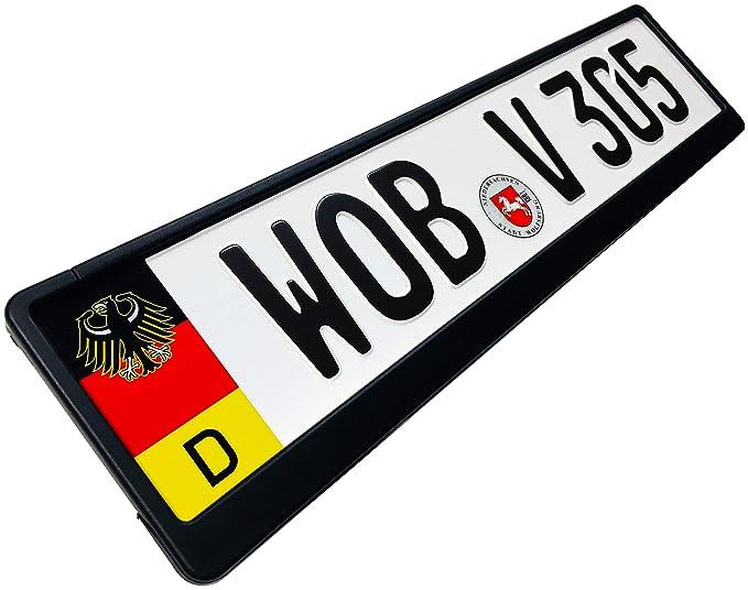 Amazon.com: Bandera de matrícula alemana + águila: Automotive