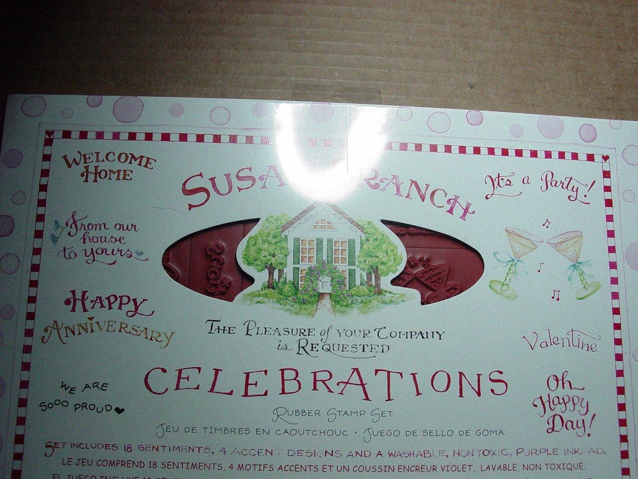 Susan Branch Celebrations Rubber Stamp Set