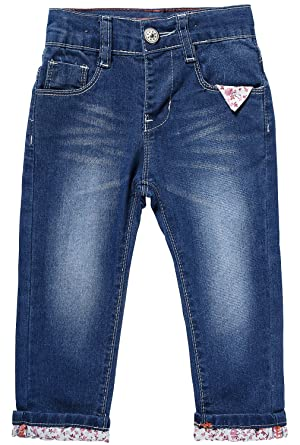 6c3e4c27d24 LITTLE-GUEST Baby Girls' Jeans Toddler Baby Clothes Regular Fit Stretch  Denim Kids Pants G105 …