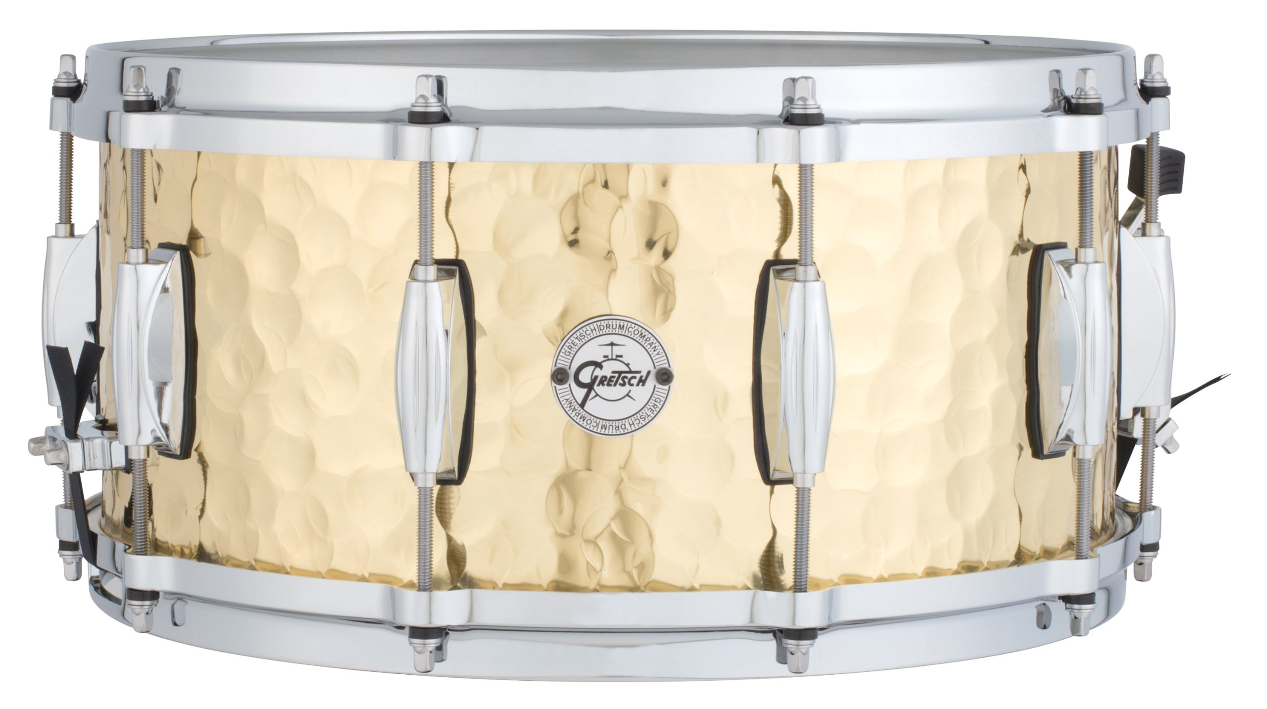 Gretsch Drums Full Range Series S1-6514-BRH 6.5x14'' Hammered Brass Snare Drum