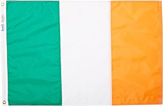 product image for Annin Flagmakers Model 193923 Ireland Flag Nylon SolarGuard NYL-Glo, 2x3 ft, 100% Made in USA to Official United Nations Design Specifications