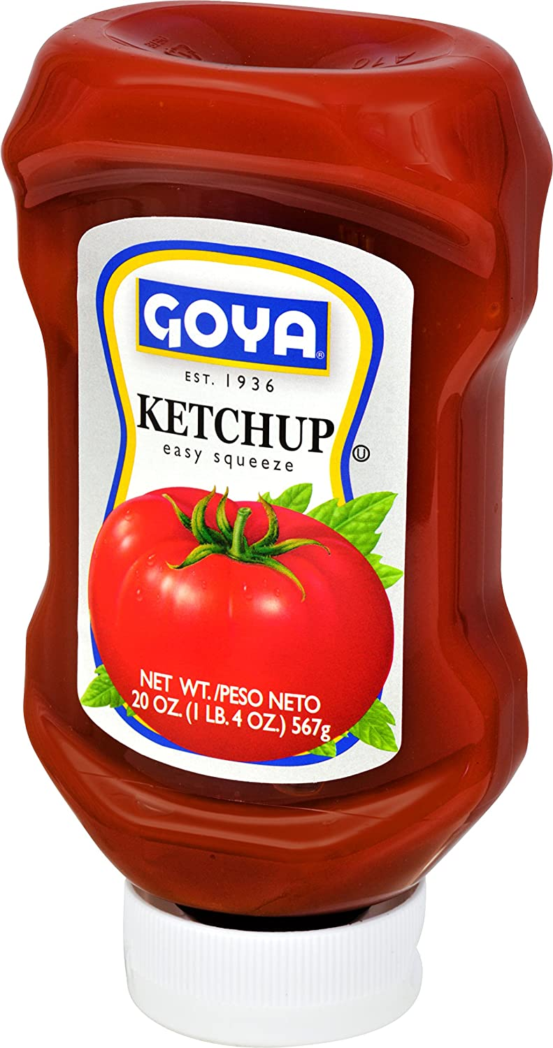 Amazon.com : Goya Foods Ketchup, Easy Squeeze, 20 Ounce (Pack of 16) : Grocery & Gourmet Food