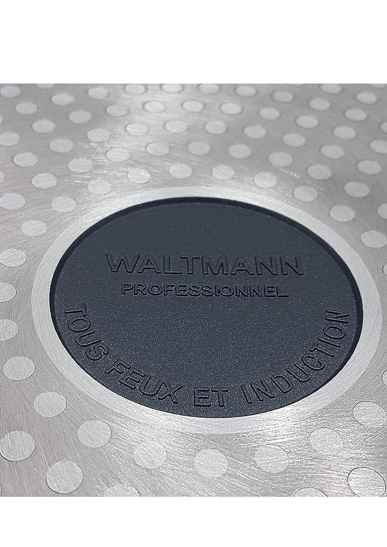 Padella Professionale 28 cm Nero Waltmann