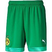 PUMA BVB Gk Shorts Jr - Pantalones Cortos Unisex niños
