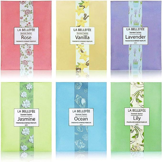 Fengyuanhong Schrank h/ängend Air Fresh Sachet Duftende Blumen Closet Duft Tasche Geruch Sachet entfernen