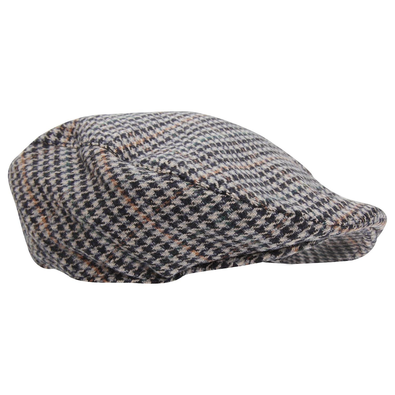 5c57ab21242 Universal Textiles Mens Tweed Wool Blend Flat Cap at Amazon Men s Clothing  store