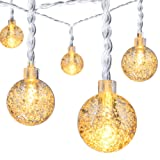 Amazon Price History for:Ball String Lights,Oak Leaf 20ft 30 LED Waterproof LED Fairy String Lights for Garden,Outdoor,Indoor,Party,Patio,Bedroom,Battery Operated,8 Modes,Warm White