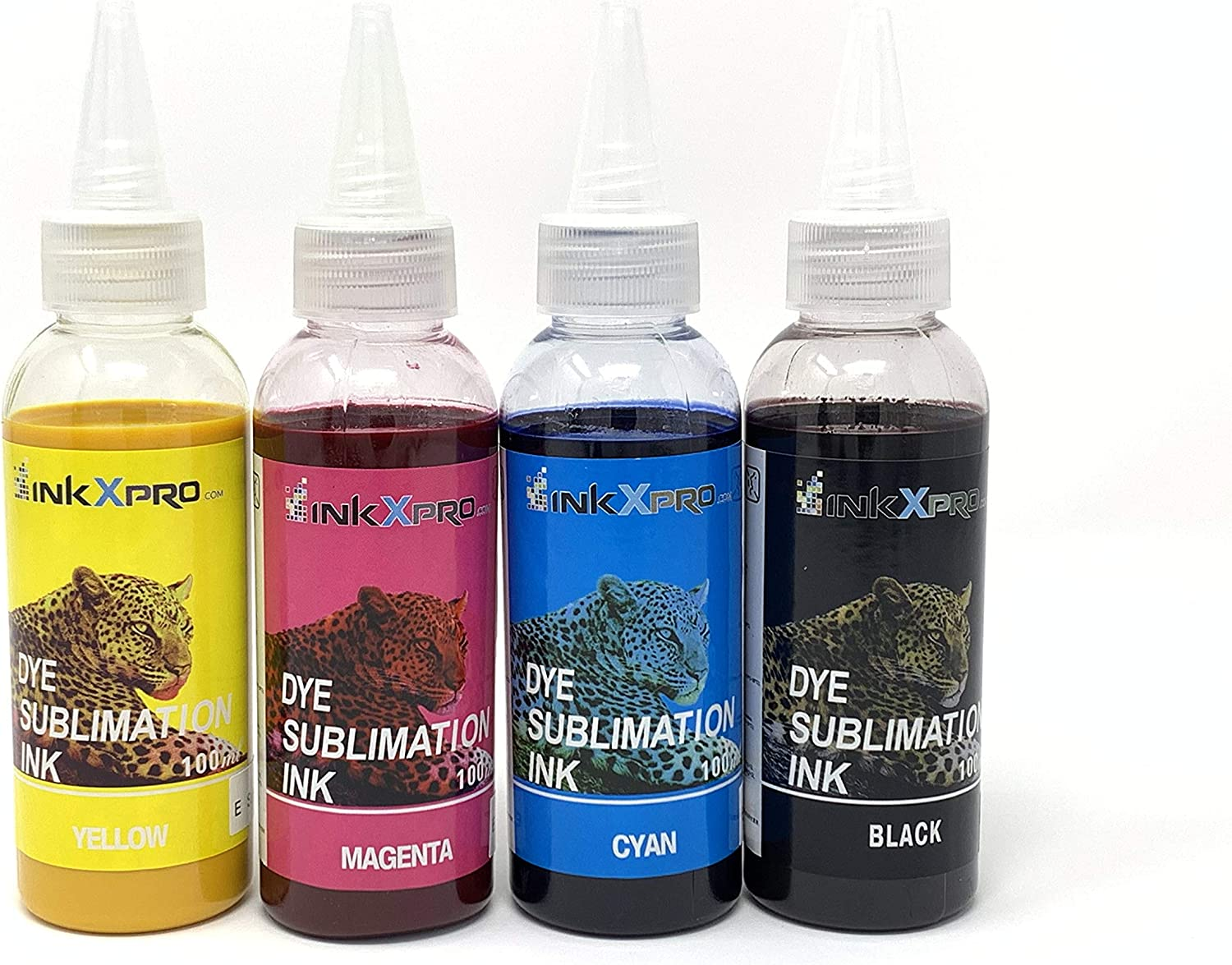 INKXPRO 4 X 100ml Professional True Color Sublimation Ink