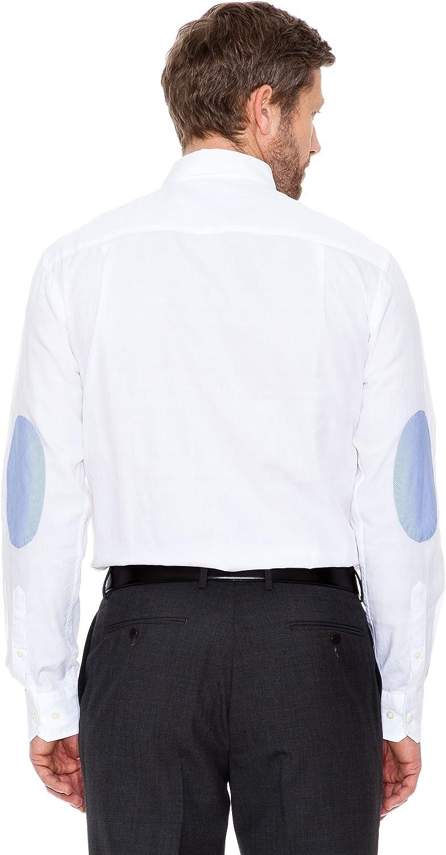 Cortefiel Camisa Coderas Blanco S: Amazon.es: Ropa y accesorios