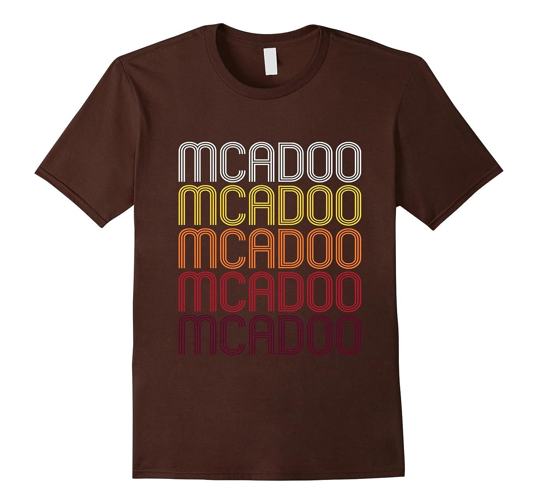 McAdoo PA  Vintage Style Pennsylvania T-shirt-Vaci