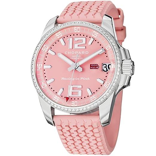 Chopard Mille Miglia Gran Turismo XL Automático edición limitada Racing en color rosa reloj 178997 - 3001: Chopard: Amazon.es: Relojes