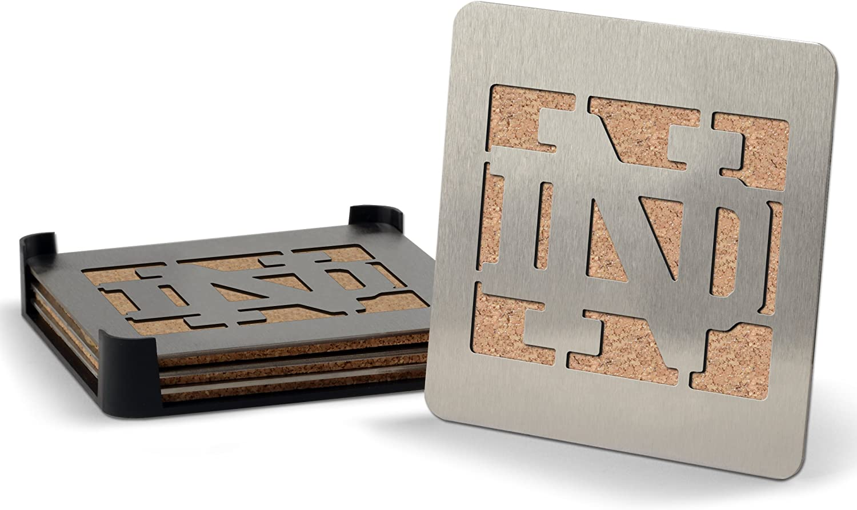 NCAA Notre Dame Fighting Irish Boaster Stainless Steel Coaster Set of 4